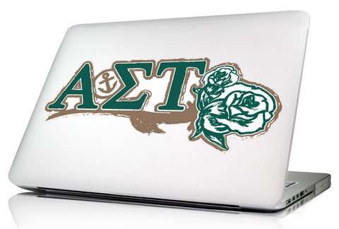 Alpha Sigma Tau <br>11.75 x 5 Laptop Skin/Wall Decal