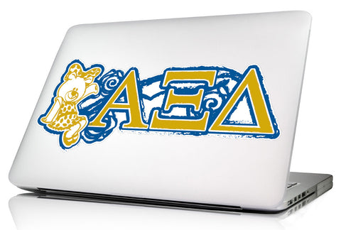 Alpha Xi Delta <br>11.75 x 5 Laptop Skin/Wall Decal