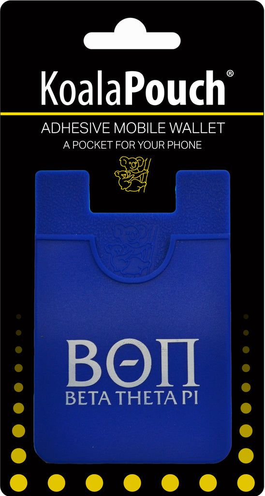 Beta Theta Pi <br> Koala Pouch<br>Adhesive wallet for your phone