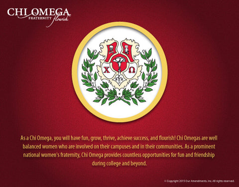 Chi Omega <br> Tribute Poster