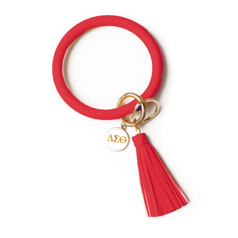 Delta Sigma Theta Bangle Sorority Keychain