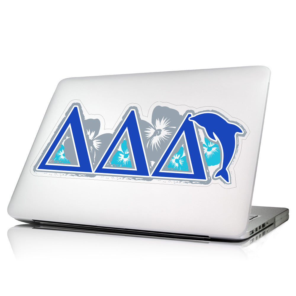 Delta Delta Delta <br>11.75 x 5.5 Laptop Skin/Wall Decal