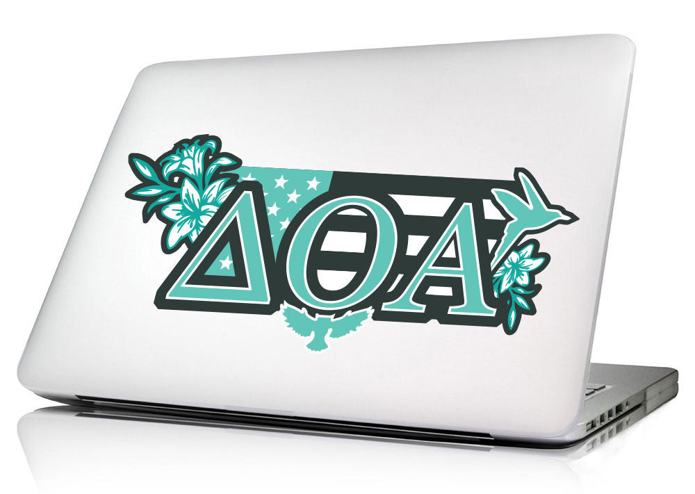 Delta Omicron Alpha <br>11.75 x 4.5 Laptop Skin/Wall Decal