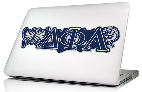 Delta Phi Lambda <br>11.75 x 3.5 Laptop Skin/Wall Decal