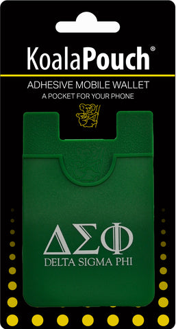 Delta Sigma Phi <br> Koala Pouch<br>Adhesive wallet for your phone