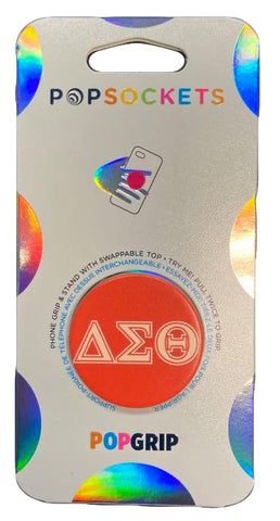 Delta Sigma Theta 2-Color PopSocket