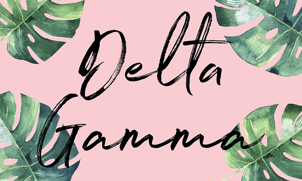 Delta Gamma Tropical Flag