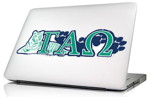 Gamma Alpha Omega <br>11.75 x 3.5 Laptop Skin/Wall Decal