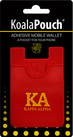 Kappa Alpha Order <br> Koala Pouch<br>Adhesive wallet for your phone