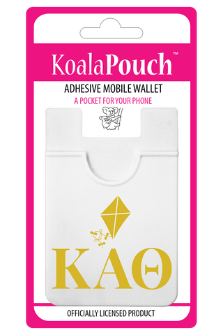 Kappa Alpha Theta<br> Koala Pouch<br>Adhesive wallet for your phone