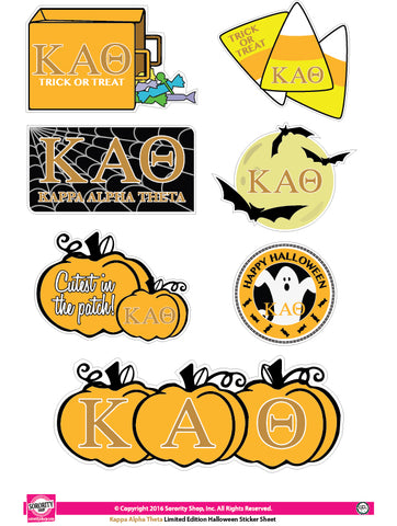 Kappa Alpha Theta <br> Halloween Stickers