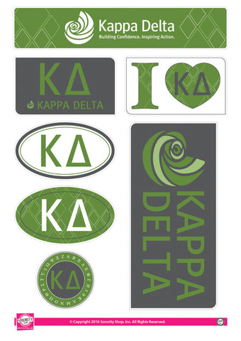 Kappa Delta <br> Lifestyle Stickers