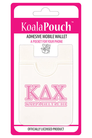 Kappa Delta Chi<br> Koala Pouch<br>Adhesive wallet for your phone
