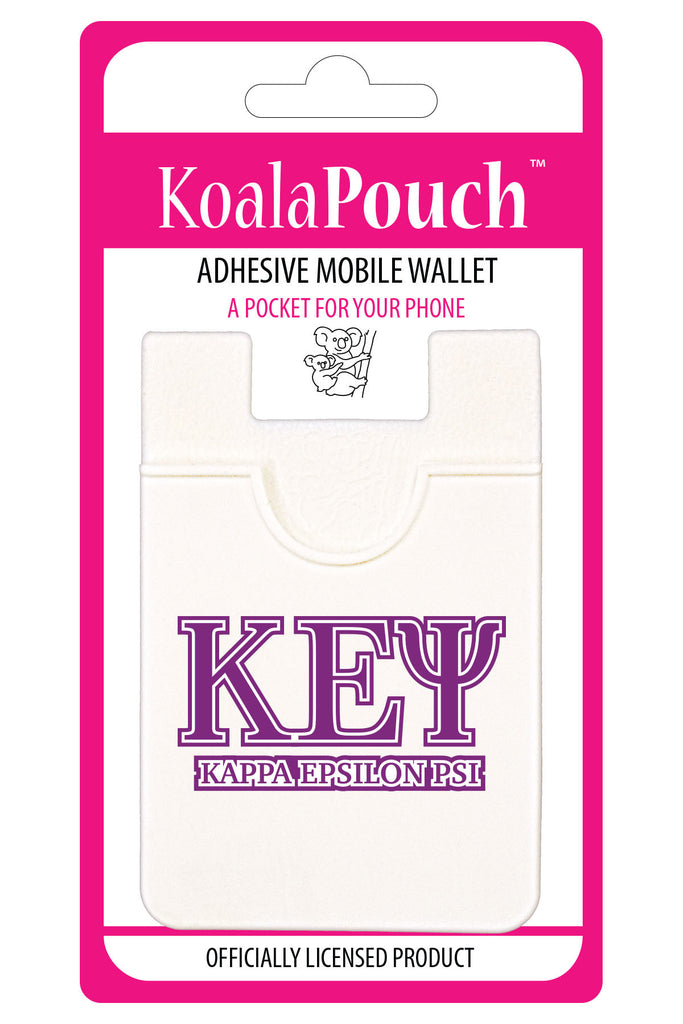 Kappa Epsilon Psi <br> Koala Pouch<br>Adhesive wallet for your phone