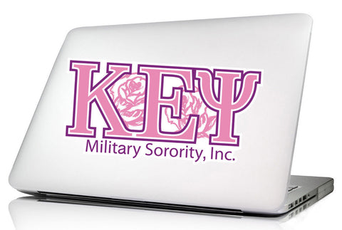 Kappa Epsilon Psi <br>10.25 x 5 Laptop Skin/Wall Decal