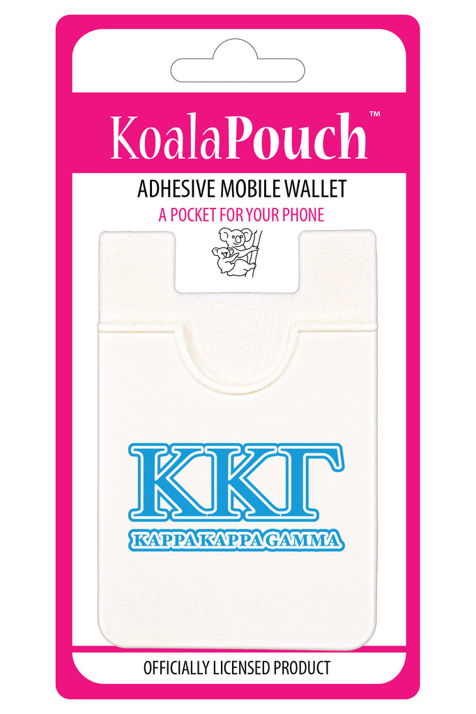Kappa Kappa Gamma <br> Koala Pouch<br>Adhesive wallet for your phone