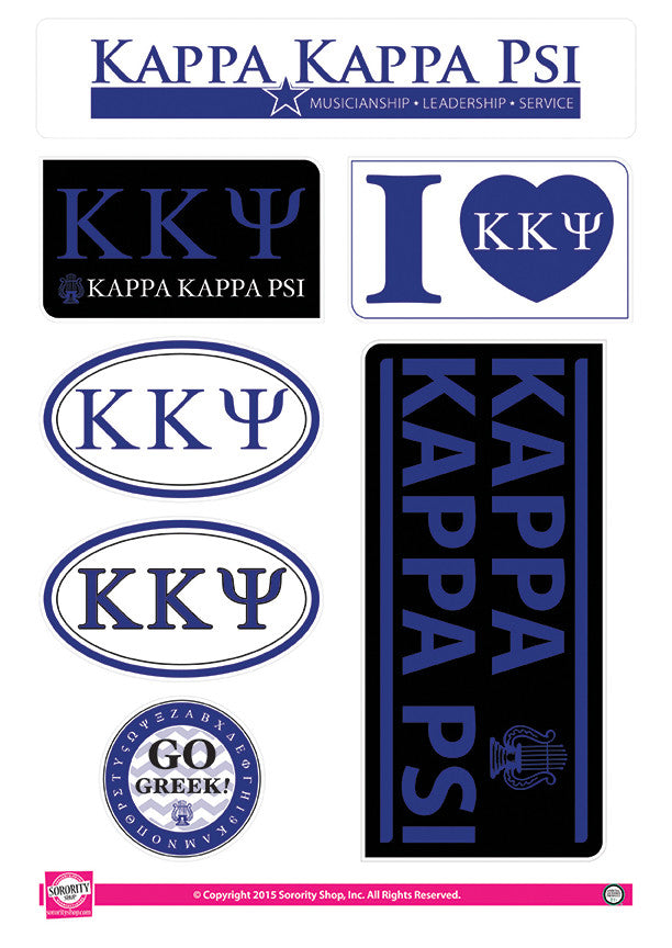 Kappa Kappa Psi <br> Lifestyle Stickers