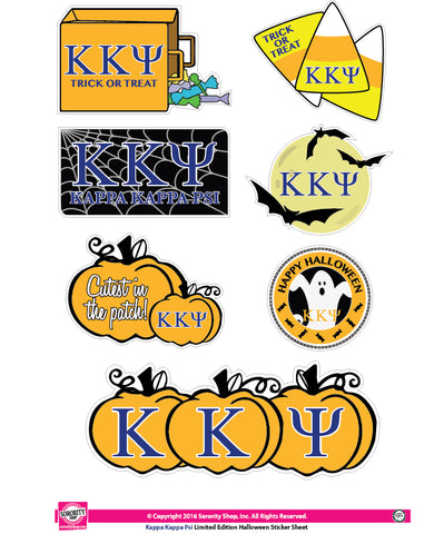 Kappa Kappa Psi Halloween Stickers