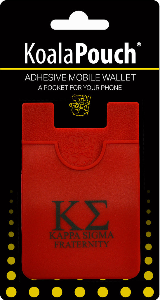 Kappa Sigma <br> Koala Pouch<br>Adhesive wallet for your phone