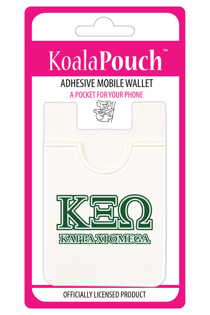 Kappa Xi Omega <br> Koala Pouch<br>Adhesive wallet for your phone
