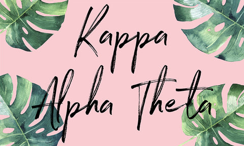 Kappa Alpha Theta Tropical Flag