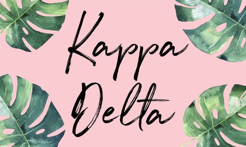 Kappa Delta Sorority Flag