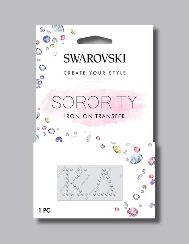 Kappa Delta Sorority Shop Swarovski Crystals