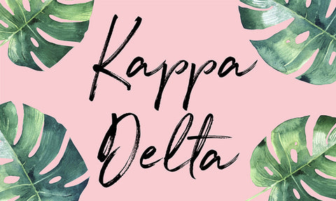 Kappa Delta Tropical Flag
