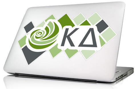 Kappa Delta<br> 10.5 x 6.75 Laptop Skin/Wall Decal
