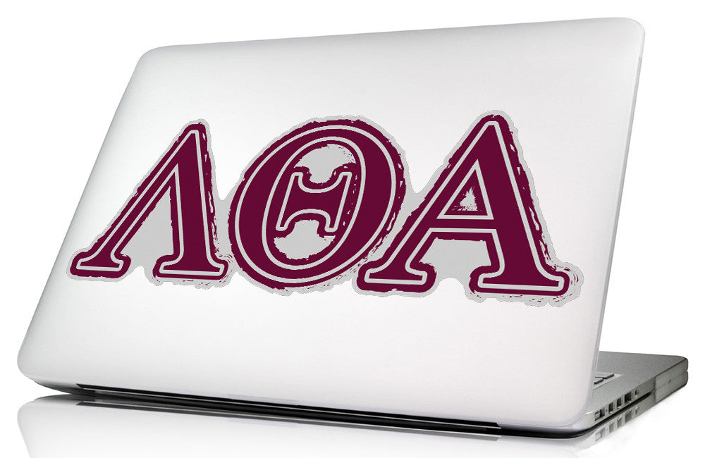 Lambda Theta Alpha <br>11.75 x 4.5 Laptop Skins/Wall Decals