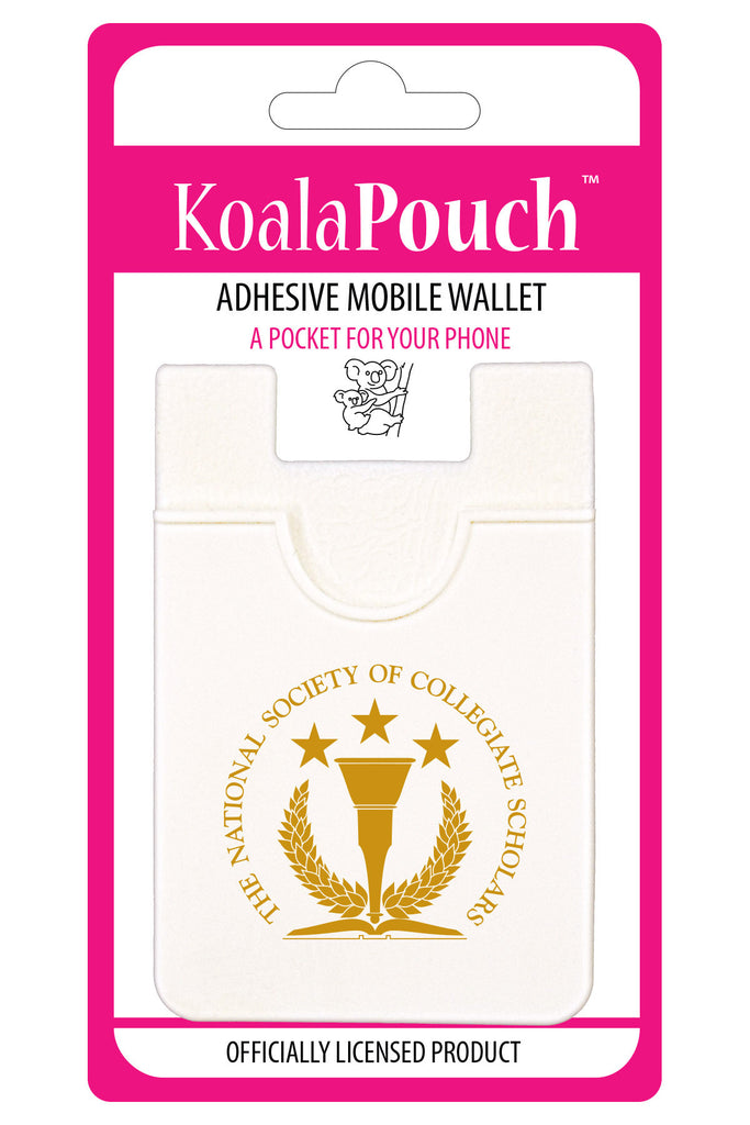 National Society of Collegiate Scholars <br> Koala Pouch<br>Adhesive wallet for your phone