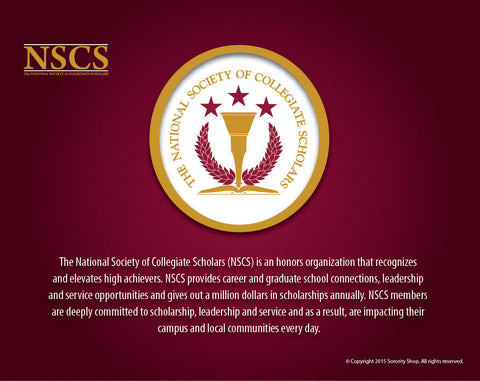National Society of Collegiate Scholars <br> Tribute Poster