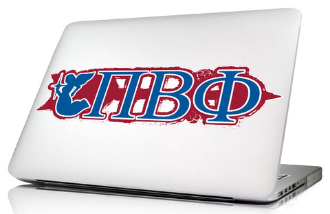 Pi Beta Phi <br>11.75 x 4 Laptop Skin/Wall Decal