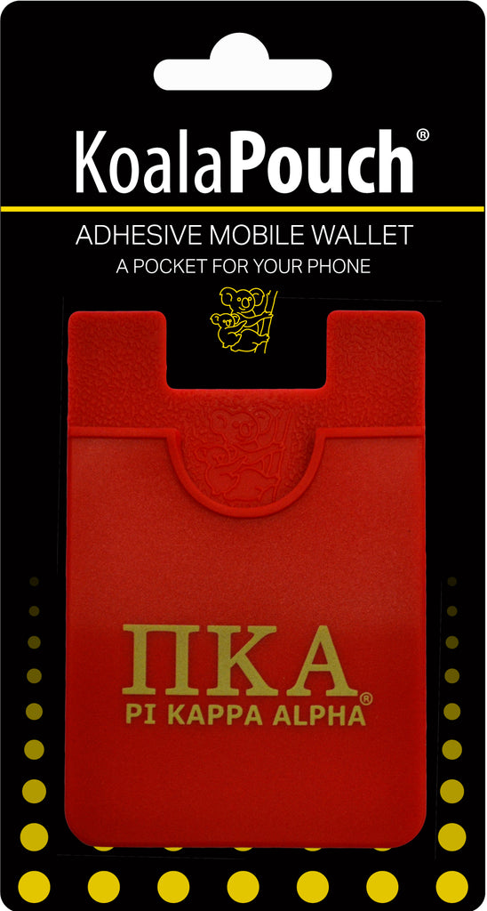 Pi Kappa Alpha <br> Koala Pouch<br>Adhesive wallet for your phone