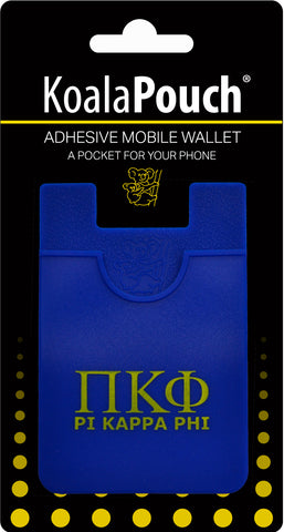 Pi Kappa Phi <br> Koala Pouch<br>Adhesive wallet for your phone