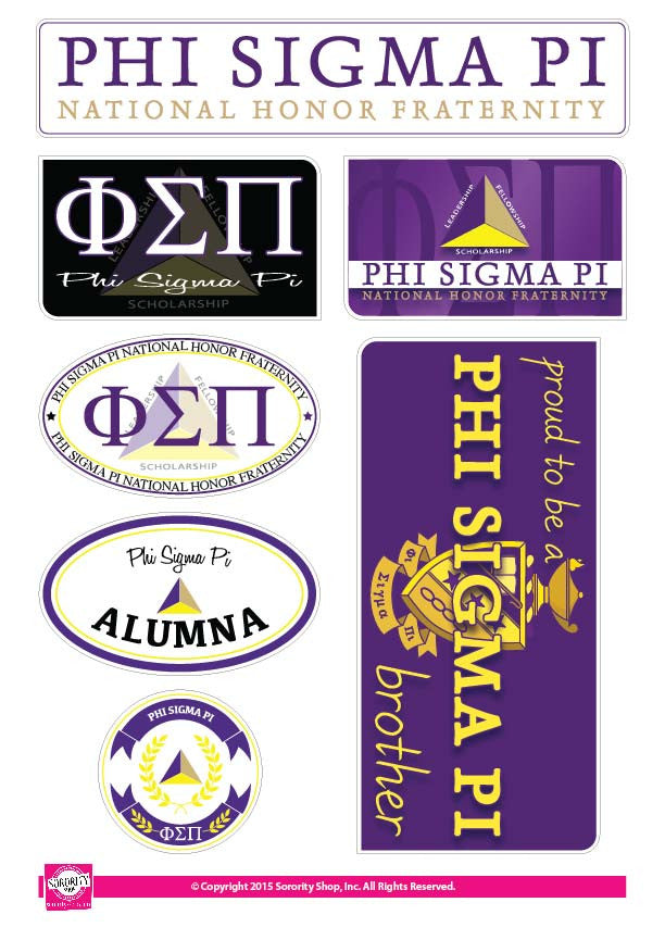 Phi Sigma Pi <br> Family Stickers