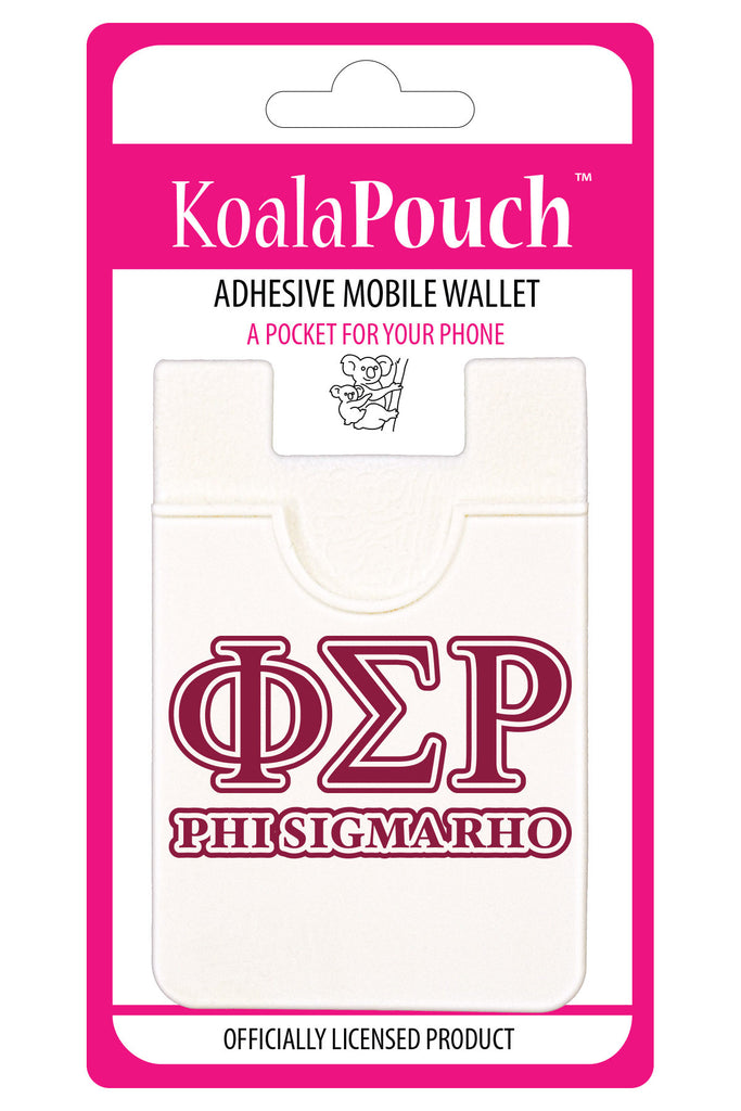 Phi Sigma Rho <br> Koala Pouch<br>Adhesive wallet for your phone