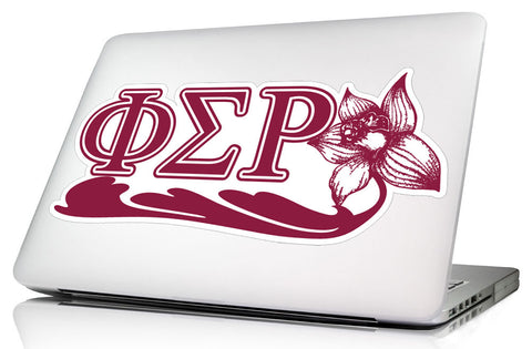 Phi Sigma Rho 13 x 5  <br> Laptop Skin/Wall Decal