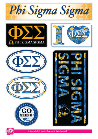 Phi Sigma Sigma <br> Lifestyle Stickers