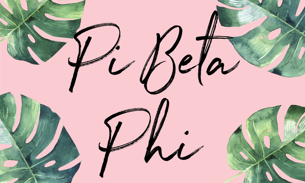Pi Beta Phi Sorority Flag