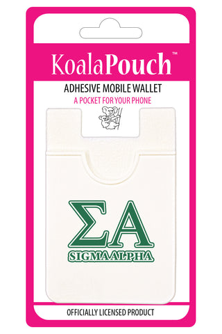Sigma Alpha<br> Koala Pouch<br>Adhesive wallet for your phone