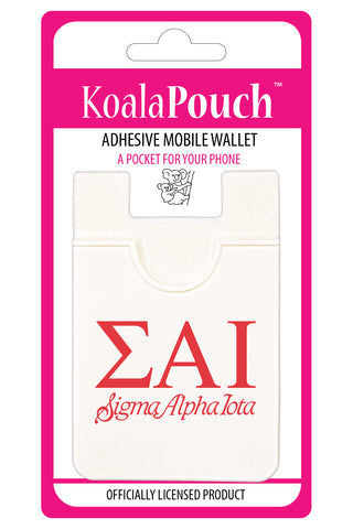 Sigma Alpha Iota <br> Koala Pouch<br>Adhesive wallet for your phone