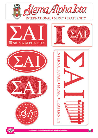 Sigma Alpha Iota <br> Lifestyle Stickers