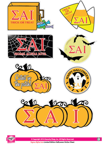 Sigma Alpha Iota <br> Halloween Stickers