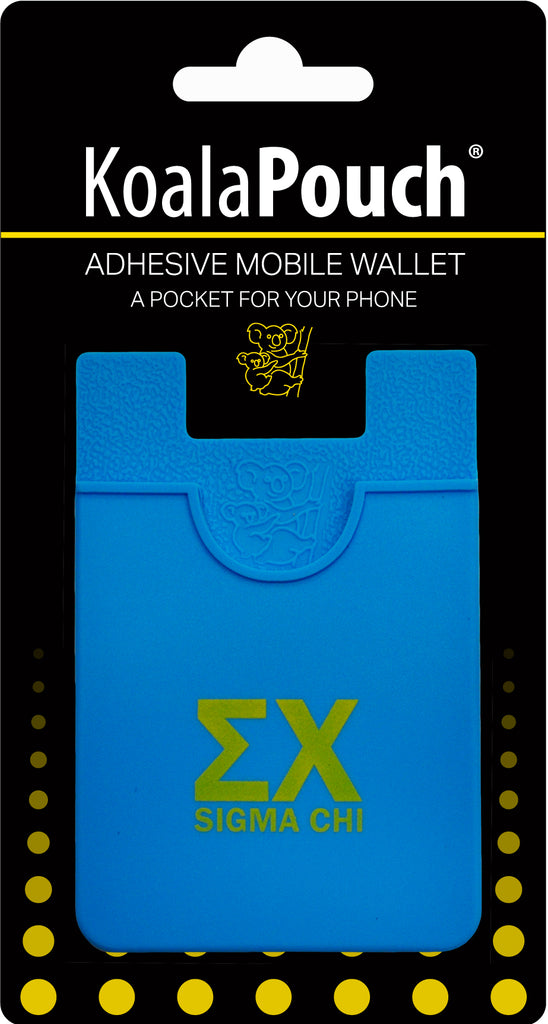 Sigma Chi <br> Koala Pouch<br>Adhesive wallet for your phone