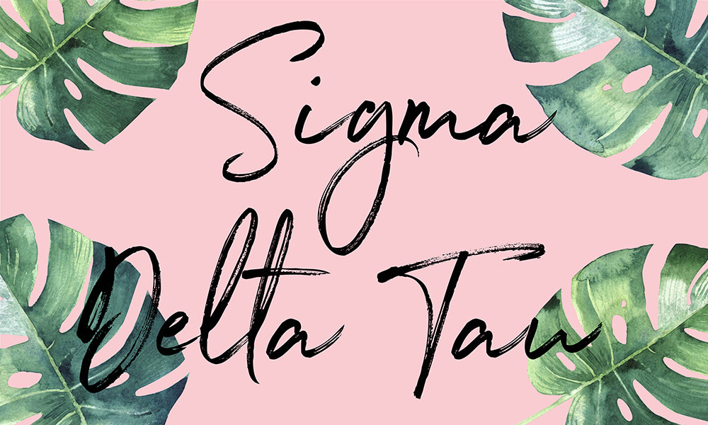 Sigma Delta Tau Tropical Flag