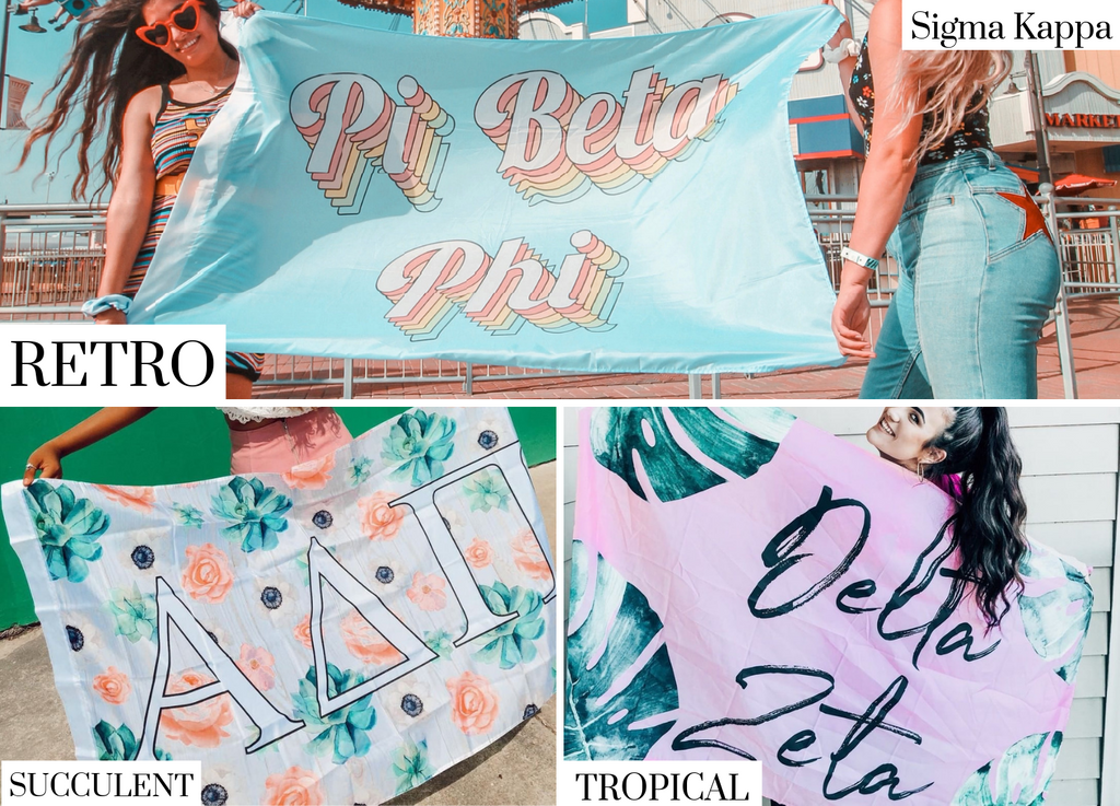 Sigma Kappa Sorority Flags