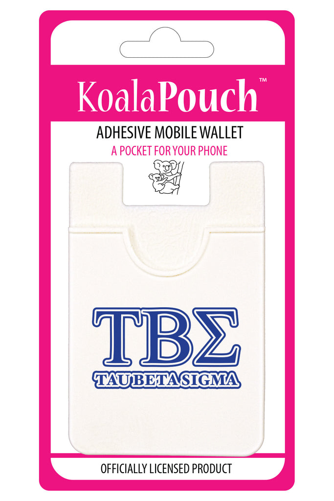 Tau Beta Sigma<br> Koala Pouch<br>Adhesive wallet for your phone