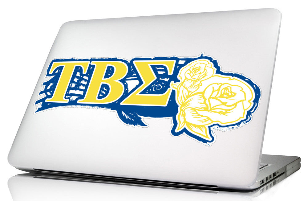Tau Beta Sigma <br>11.75 x 4.5 Laptop Skin/Wall Decal