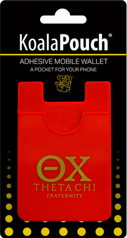 Theta Chi <br> Koala Pouch<br>Adhesive wallet for your phone